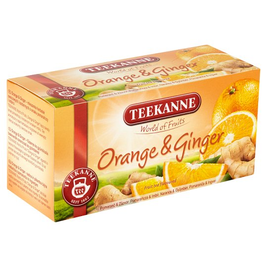 TEEKANNE Orange & Ginger, World of Fruits, 20 vrecúšok, 45 g