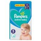 Pampers Active Baby Veľ. 5, 51 Plienok, 11-16 kg