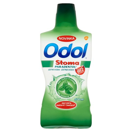 Odol Stoma Paradentol Mouthwash for Healthy Gums 500 ml