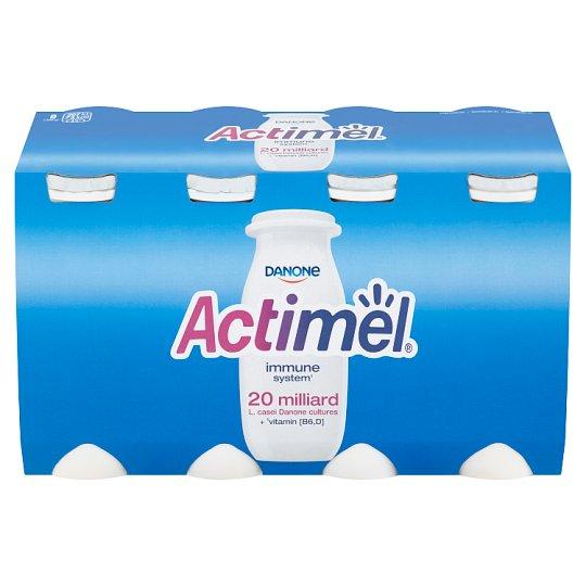Danone Actimel Yoghurt Milk with Vitamins B6 and D - Sweetened 8 x 100 g