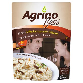 Agrino Bistro Rizoto s gréckym hríbom pravým 200 g