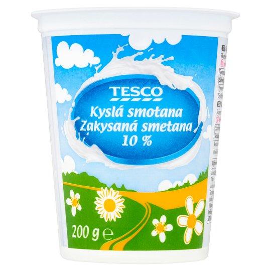 Tesco Sour Cream 10 % 200 g