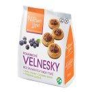 Nature Line Velnesky pohánkové sušienky s fruktózou, vlákninou a čučoriedkami 200 g