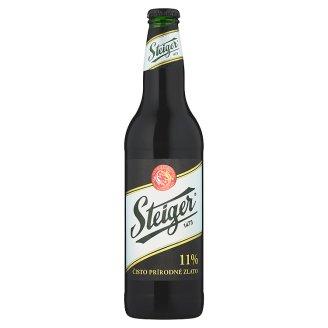 Steiger 11 % tmavý výčapný  ležiak 0,5 l