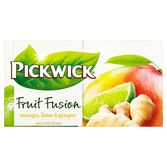 Pickwick Fruit Fusion Mango, Lime & Ginger 20 x 1,75 g