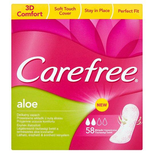 Carefree Aloe slipové vložky 58 ks
