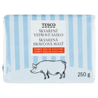 Tesco Škvarená bravčová masť 250 g