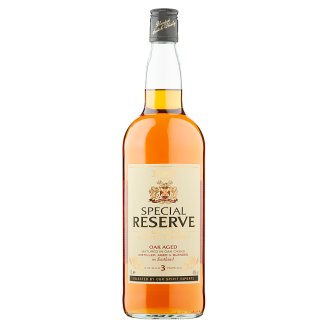 Tesco Special reserve blended scotch whisky 1 l