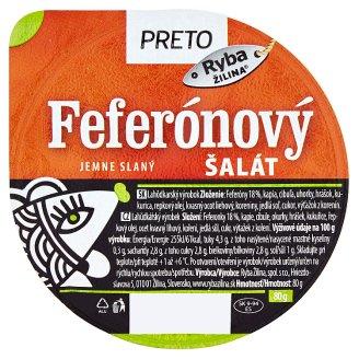 Ryba Žilina Preto Feferónový šalát jemne slaný 80 g