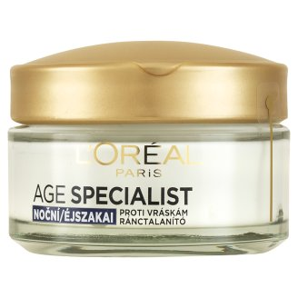L'Oréal Paris Age Specialist 45+ spevňujúca nočná staroslivosť proti vráskam 50 ml