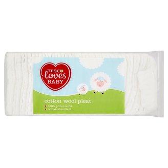 Tesco Loves Baby Skladaná vata 200 g