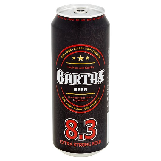 Beer Barth's Strong 8.3% 0.5 L