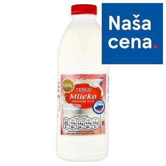 Tesco Mlieko plnotučné 3,5 % 1 l