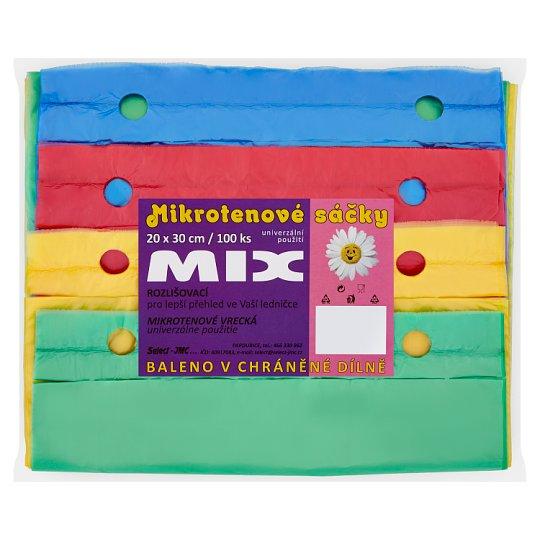 Mix Mikroténové vrecká 100 ks