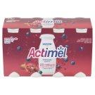 Danone Actimel Jogurtové mlieko s vitamínmi B6 a D - čučoriedky, granátové jablko a maca 8 x 100 g