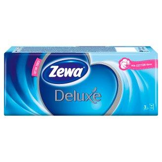 Zewa Deluxe Handkerchiefs 3-Ply 10 x 10 pcs