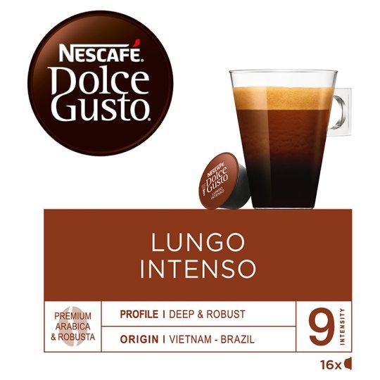 NESCAFÉ Dolce Gusto Lungo Intenso - káva v kapsulách - 16 kapsúl v balení