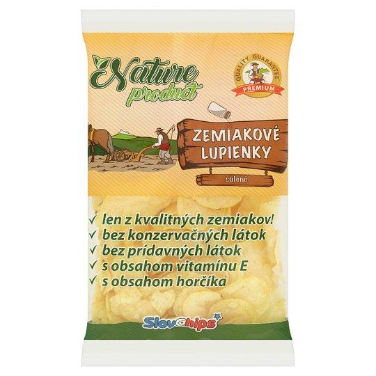 SlovChips Zemiakové lupienky solené 75 g