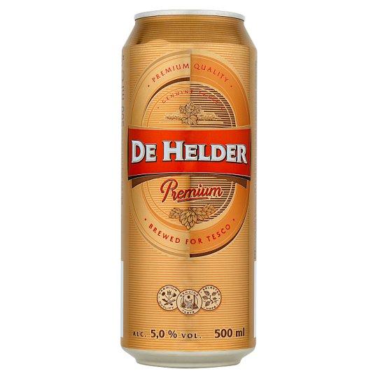 De Helder Premium pivo výčapný ležiak svetlý 500 ml