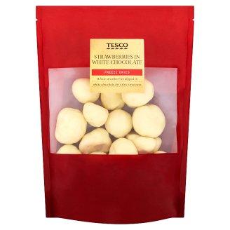 Tesco Strawberries in White Chocolate 150 g