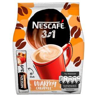 NESCAFÉ 3in1 Warmy Caramel, Instant Coffee, 10 Bags x 16 g (160 g)