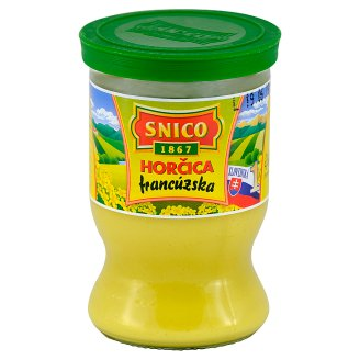Snico French Mustard 180 g