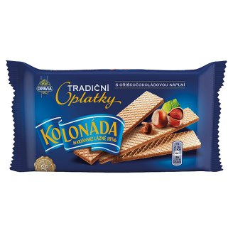 Opavia Kolonáda Traditional Wafers with Hazelnut Chocolate Filling 140 g