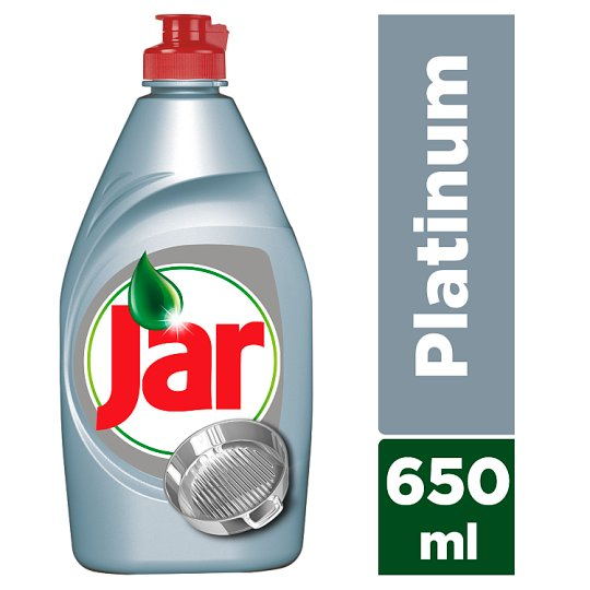 Jar Platinum Washing Up Liquid Arctic Fresh 650ml