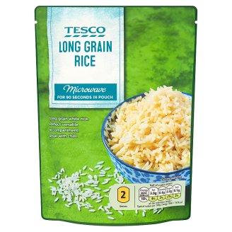 Tesco Predvarená ryža dlhozrnná lúpaná 250 g