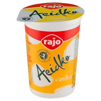 Rajo Acidko Sour Milk Vanilla 250 g