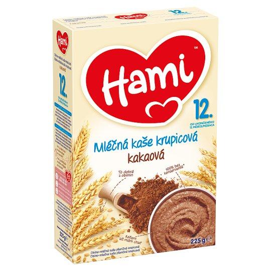 Hami Obilno-mliečna kaša krupicová kakaová 225 g