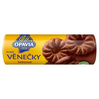 Opavia Zlaté Wreaths Cocoa Biscuits 150 g