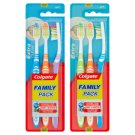 Colgate Extra Clean Toothbrush Medium Family Pack 3 pcs