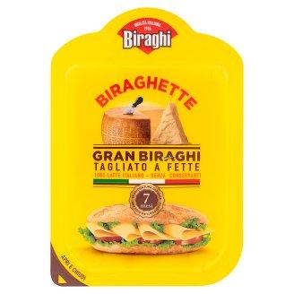 Biraghi Gran zrejúci stredne tučný tvrdý syr plátky 120 g
