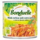 Bonduelle Mladá mrkva celá extra jemná v mierne slanom náleve 400 g