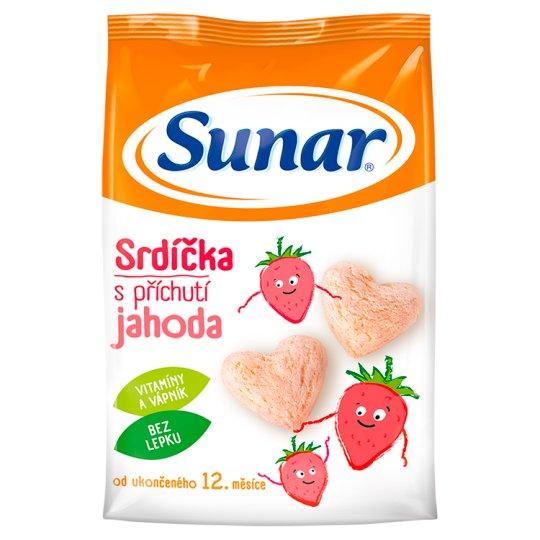 Sunárek Srdiečka s príchuťou jahoda pre prvé zúbky 50 g