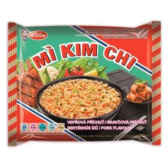 Mi Kim Chi Instantná rezancová polievka bravčová príchuť 75 g