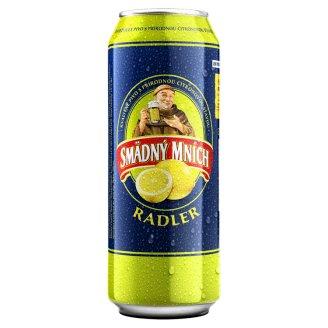Smädný Mních Radler Beer Alcoholic Drink Flavored with Lemon 500 ml