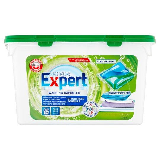 Go for Expert Univerzálne kapsuly na pranie 20 x 24,5 ml