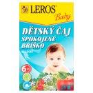 Leros Baby Detský čaj spokojné bruško bylinný 20 x 2 g