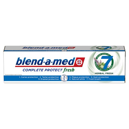 Blend-a-med Protect 7 Herbal Fresh Zubná Pasta 100 ml