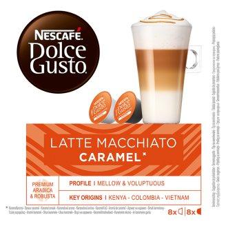 NESCAFÉ Dolce Gusto Latte Macchiato Caramel - káva v kapsulách - 16 kapsúl v balení
