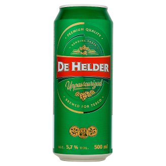 De Helder Bright Lager Beer 500 ml