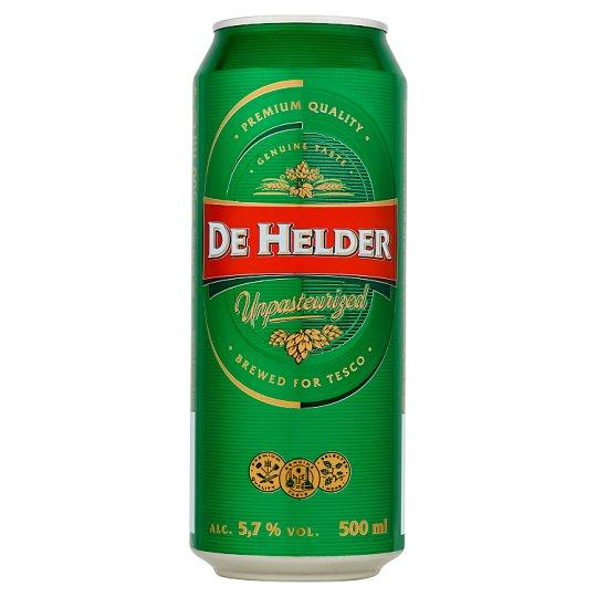 De Helder Bright Lager Beer 500 ml
