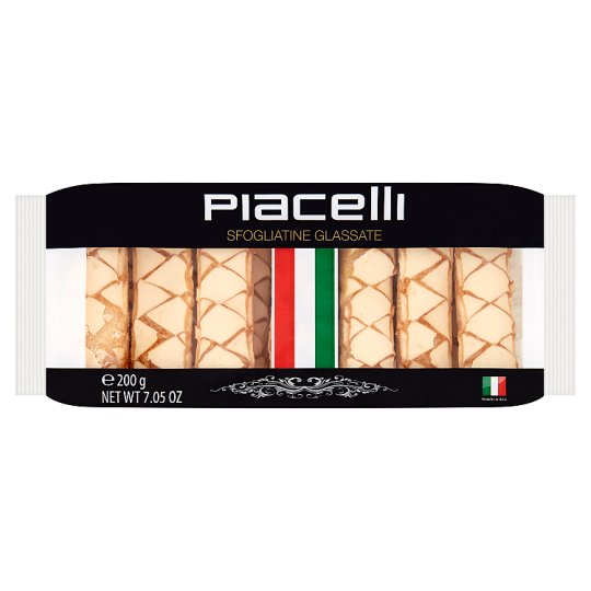 Piacelli Puff Pastry Glazed with Sugar 200 g