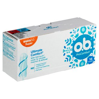 O.B.® ProComfort Tampons Super 16 pcs