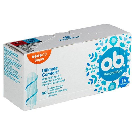 O.B.® ProComfort Tampóny Super 16 ks