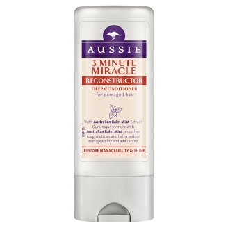 Aussie Miracle Moist Balzam Na Suché, Vysušené Vlasy 75 ml