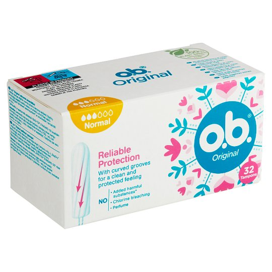 O.B.® Original Tampons Normal 32 pcs