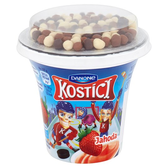 Danone Kostíci Jogurt jahoda 107 g